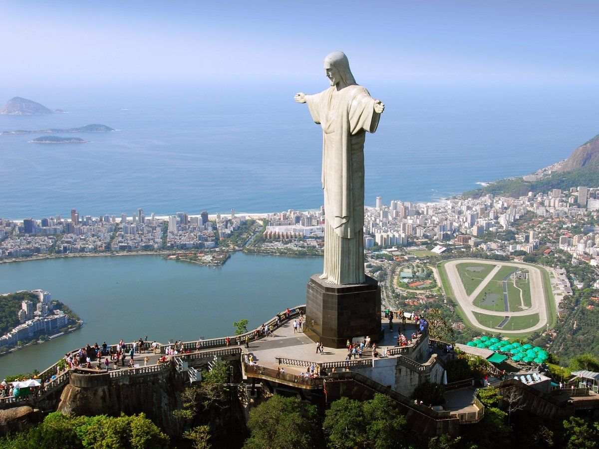 Gaze at the Christ the Redeemer statue