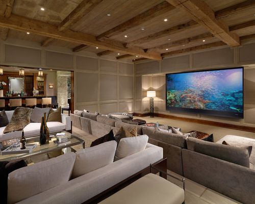 Home Theater Design Dallas Inspiring Fine Home Theater Design Dallas  Inspiring Worthy Mediterranean Decor
