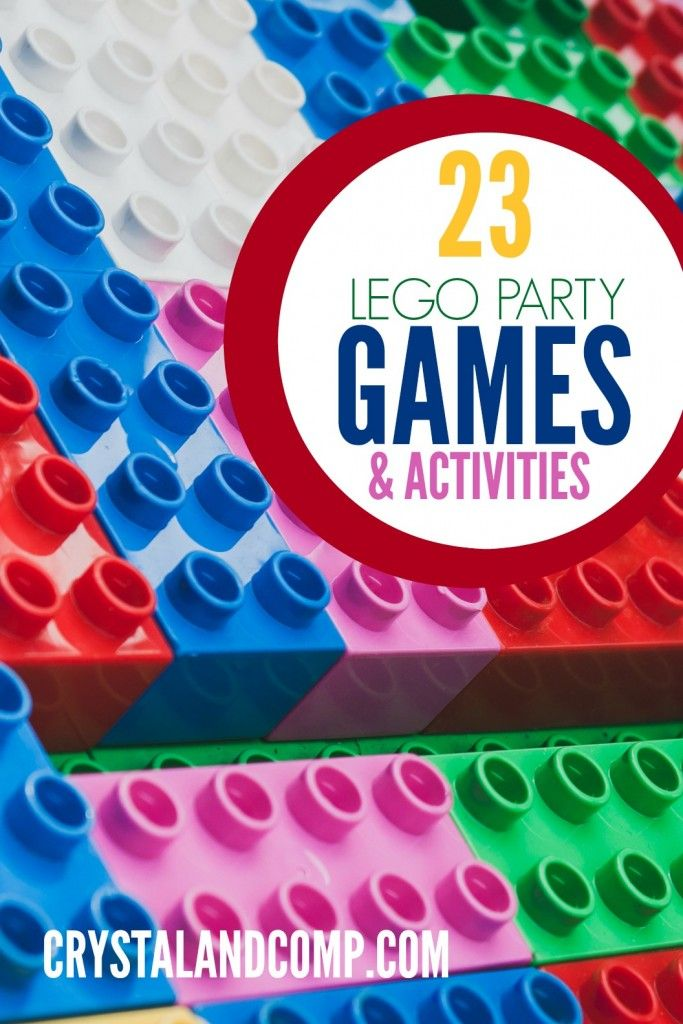 23 Lego Party Games & Activities | Lego birthday party, Birthday ...