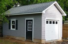 How much is it to build a detached single garage bing for How much is a one car garage