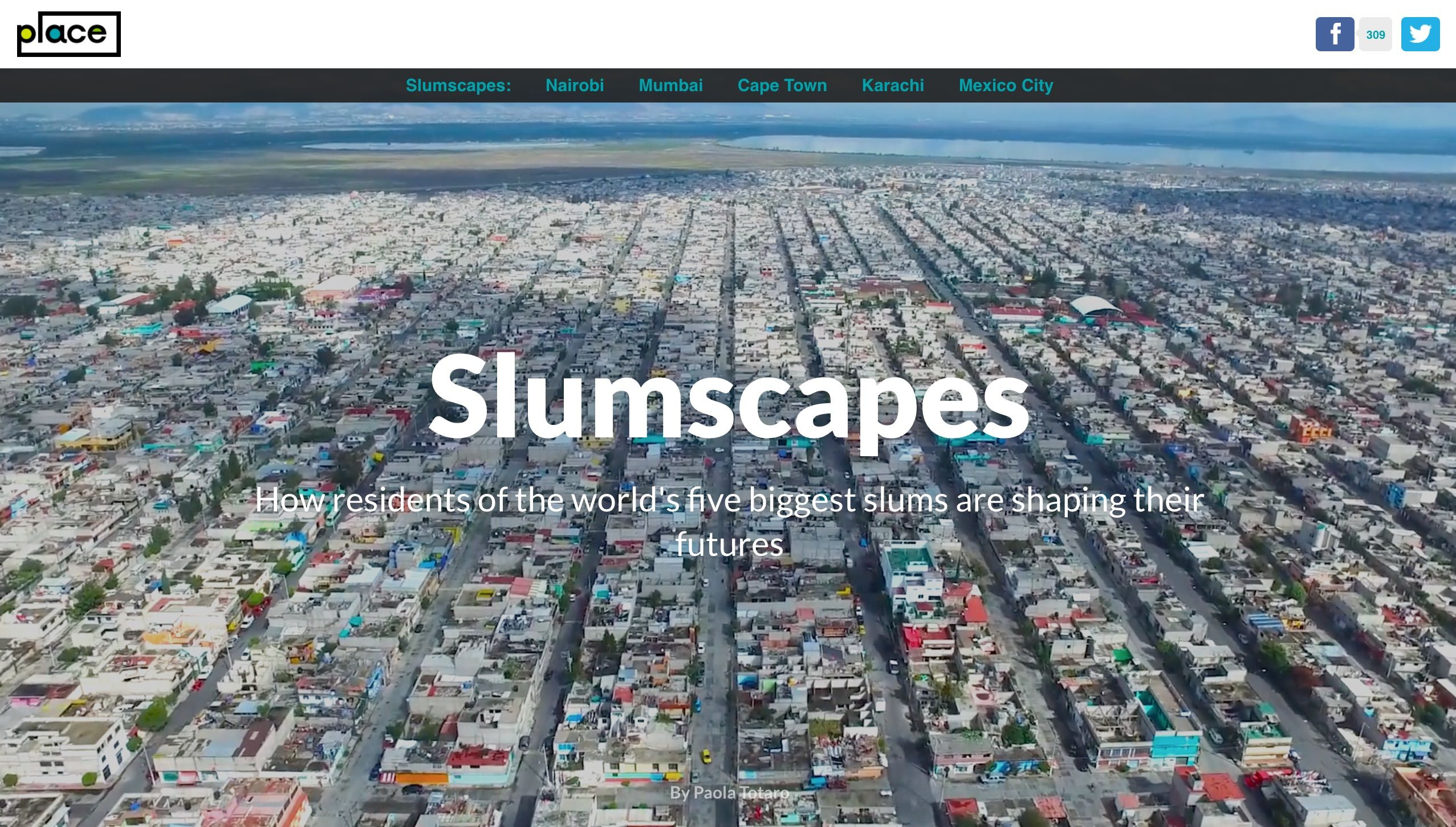 Slumscapes How The World S Five Biggest Slums Are Shaping Their Futures With Images Slums World Mexico City