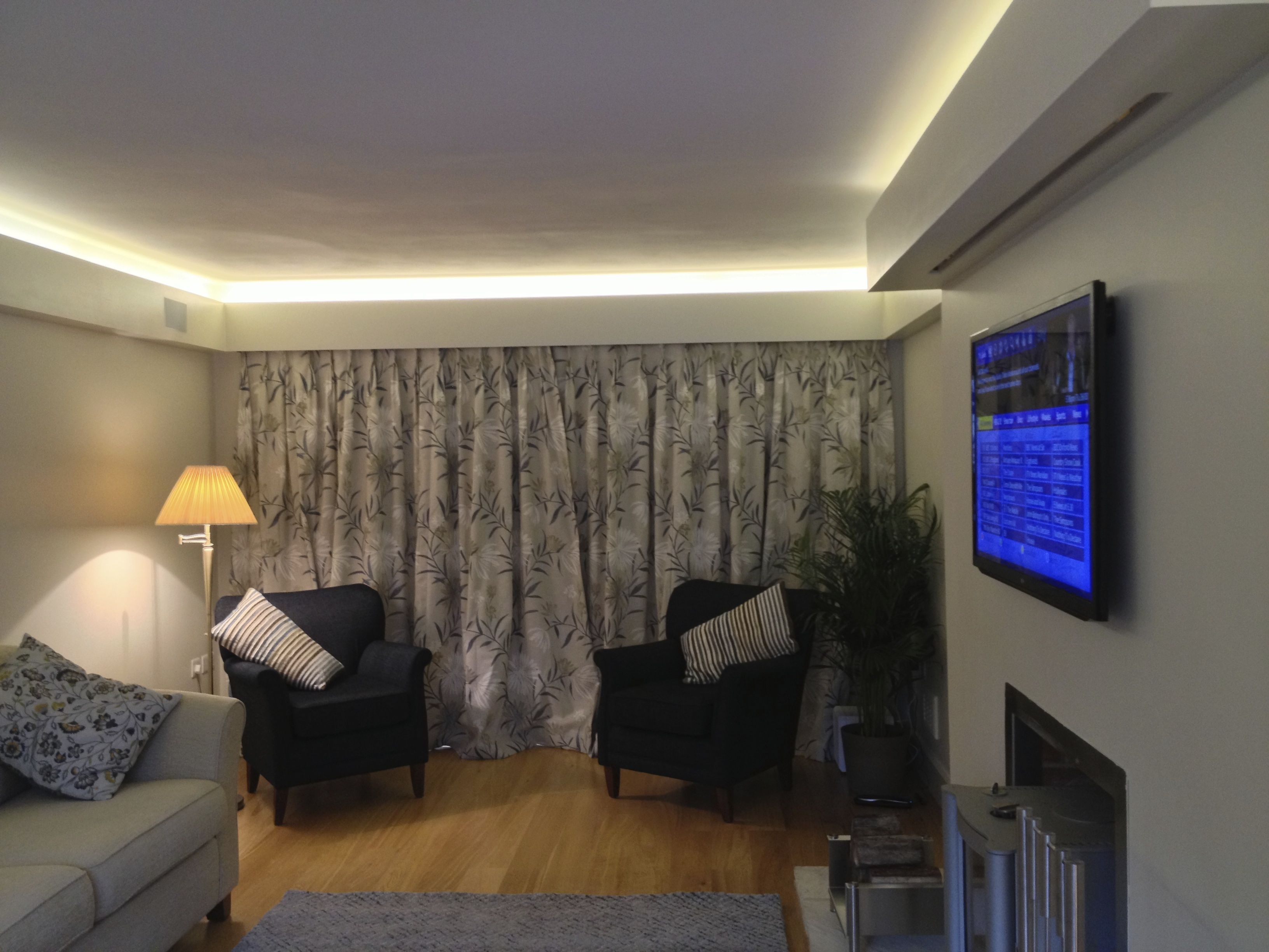 Cool led strip lights supplied by led hut used with rako lighting cool led strip lights supplied by led hut used with rako lighting controls installed by installation man ltd bespoke smart homes av lighting home aloadofball Image collections