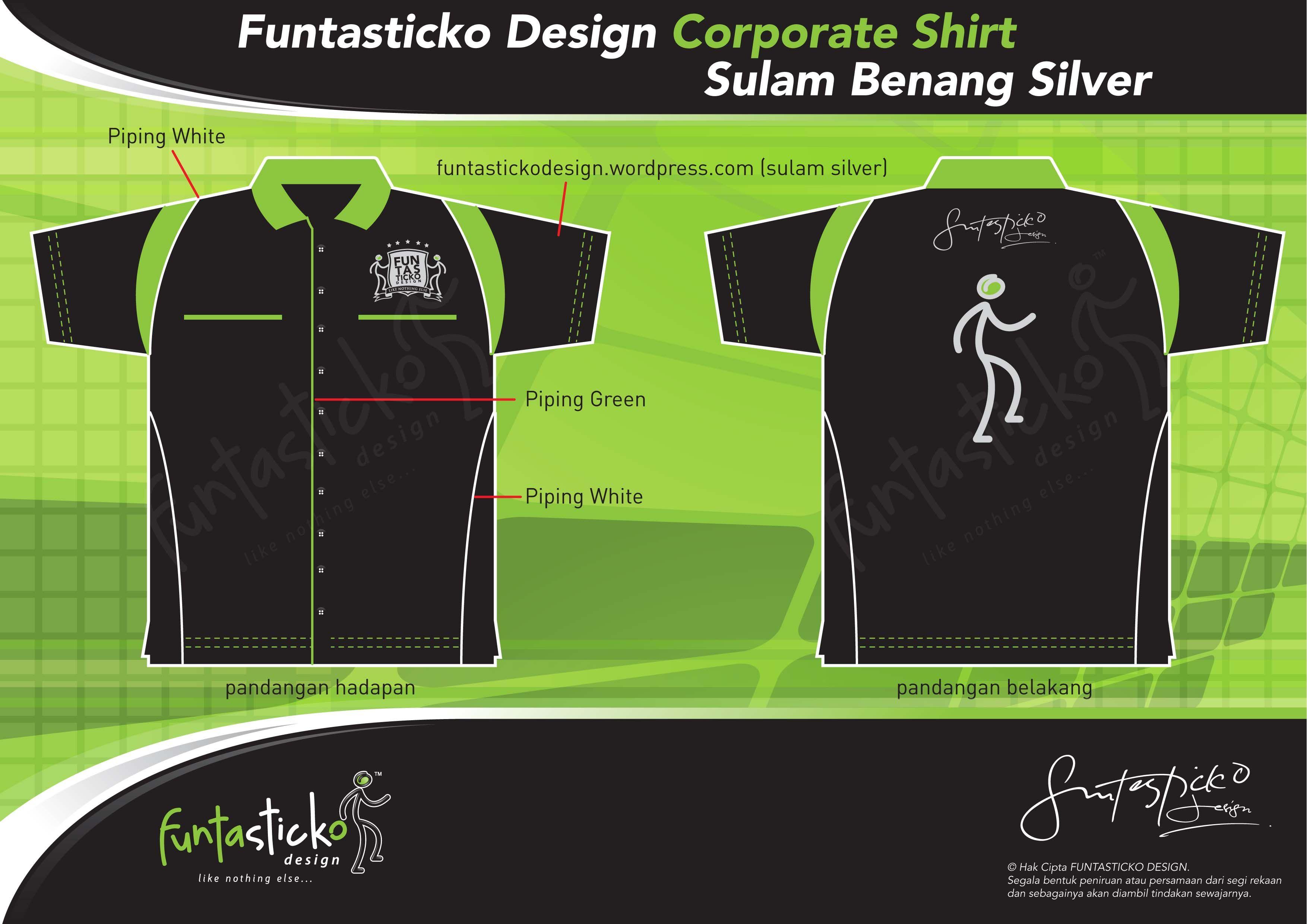 Shirt design green - Funtasticko Design Corporate Eocm F1 Shirt Design Proposal