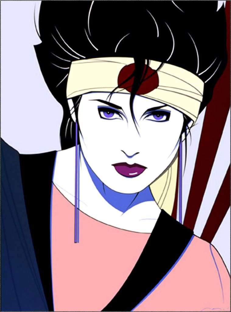 885ffb76c304 Patrick Nagel - Sushi Girl - I have one framed   I d entertain offers to  sell it!