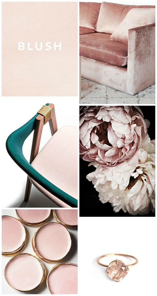 Craving Blush - Homey Oh My #moodboards