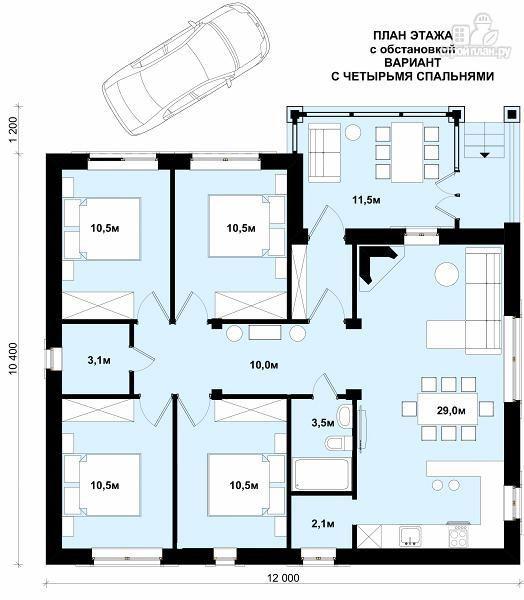 Одноэтажные дома 10 на 12 фото домов 71
