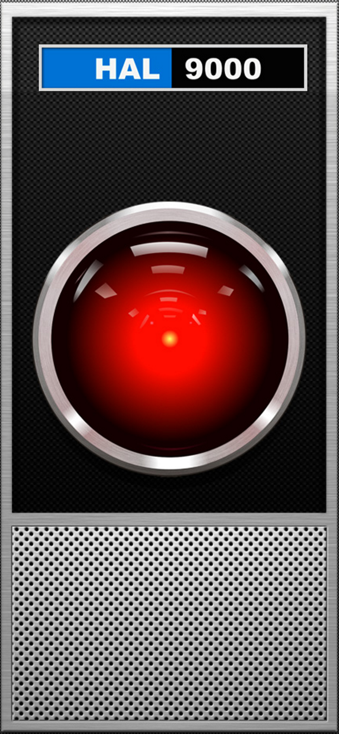 01 Hal9000 Interface Wallpaper For Iphone X Static Iphone Wallpaper Cool Wallpapers For Phones Wallpaper