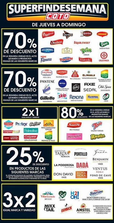 Catálogo de ofertas de Coto