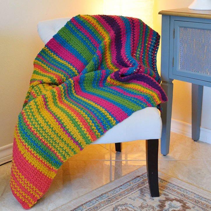 Must-Make Crochet Temperature Afghan | Tejido