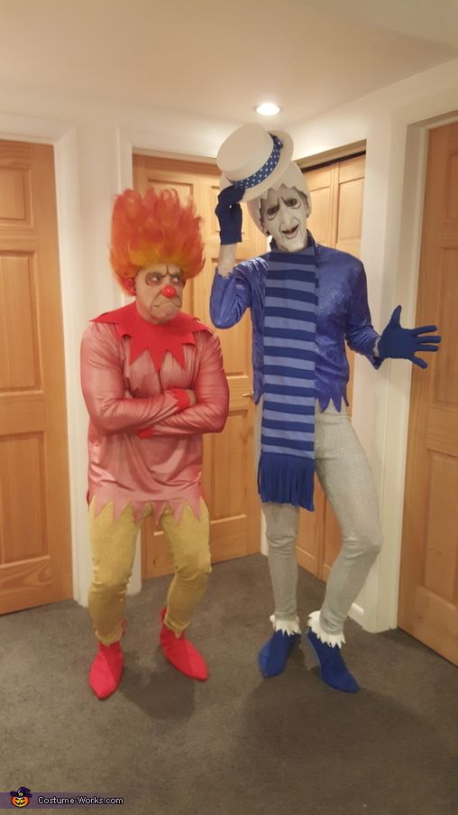 Heat Miser And Snow Miser Halloween Costume Contest At