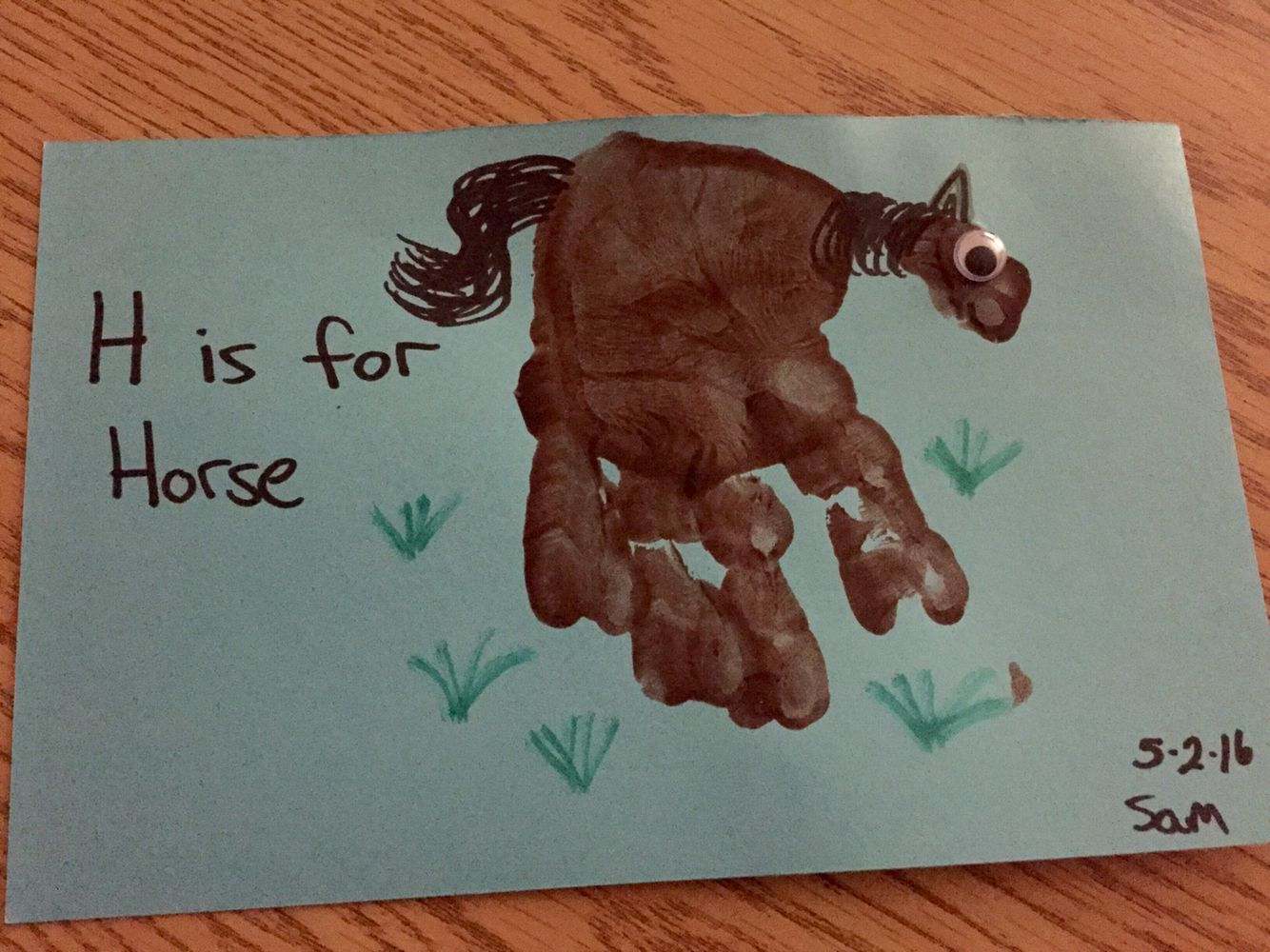 Letter Hh Preschool Project H Is For Horse