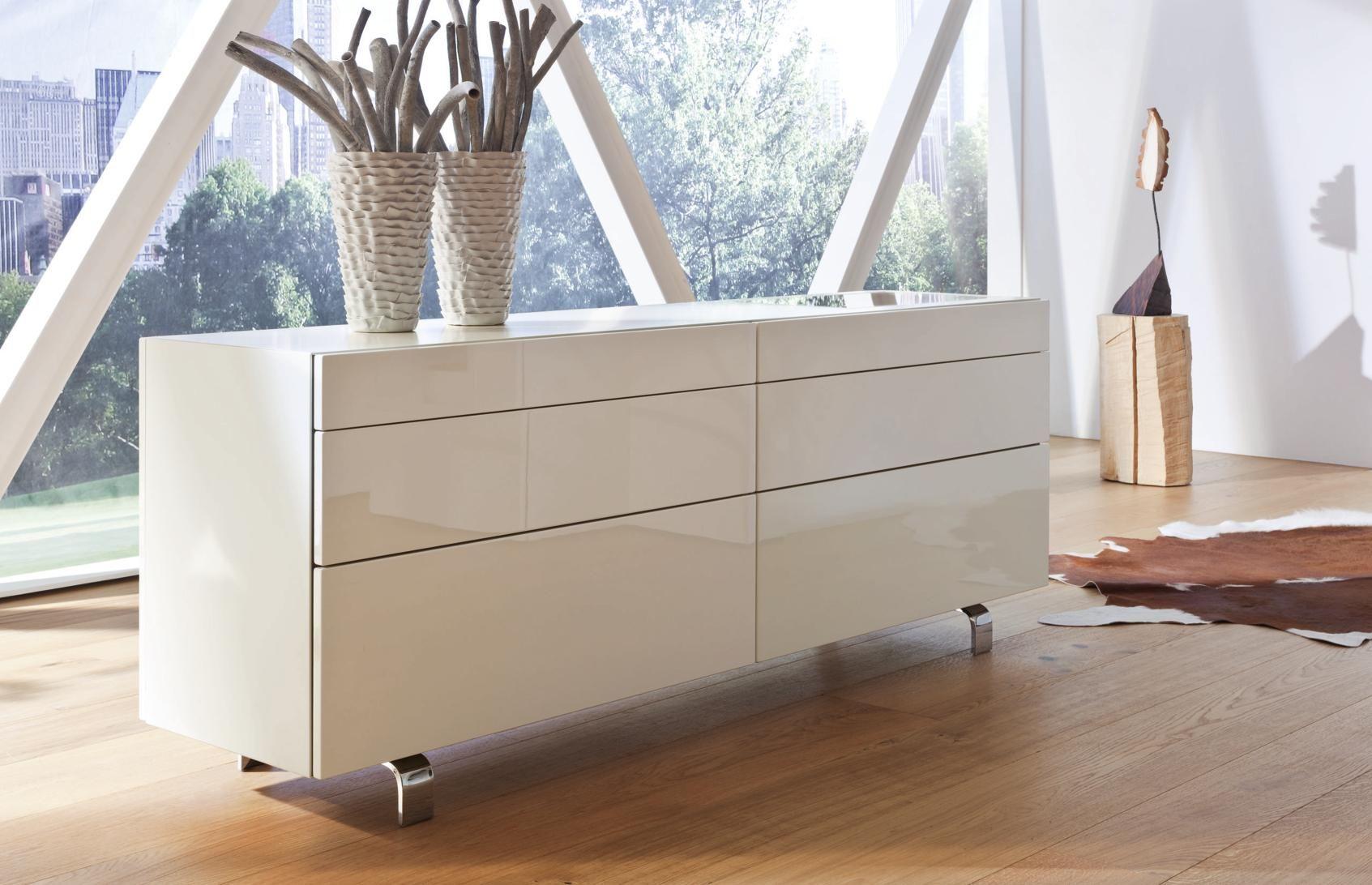 Sideboard In Weiss Von Hulsta Anrichte Weiss Haus Deko Graue Mobel