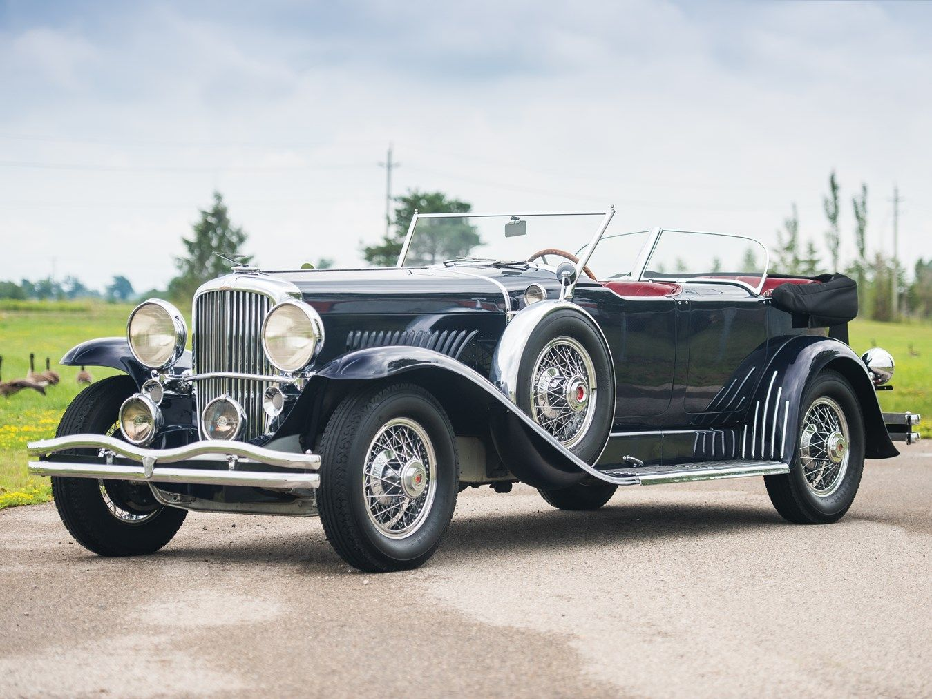 1930 Duesenberg Model J Dual Cowl Phaeton By Murphy Collector