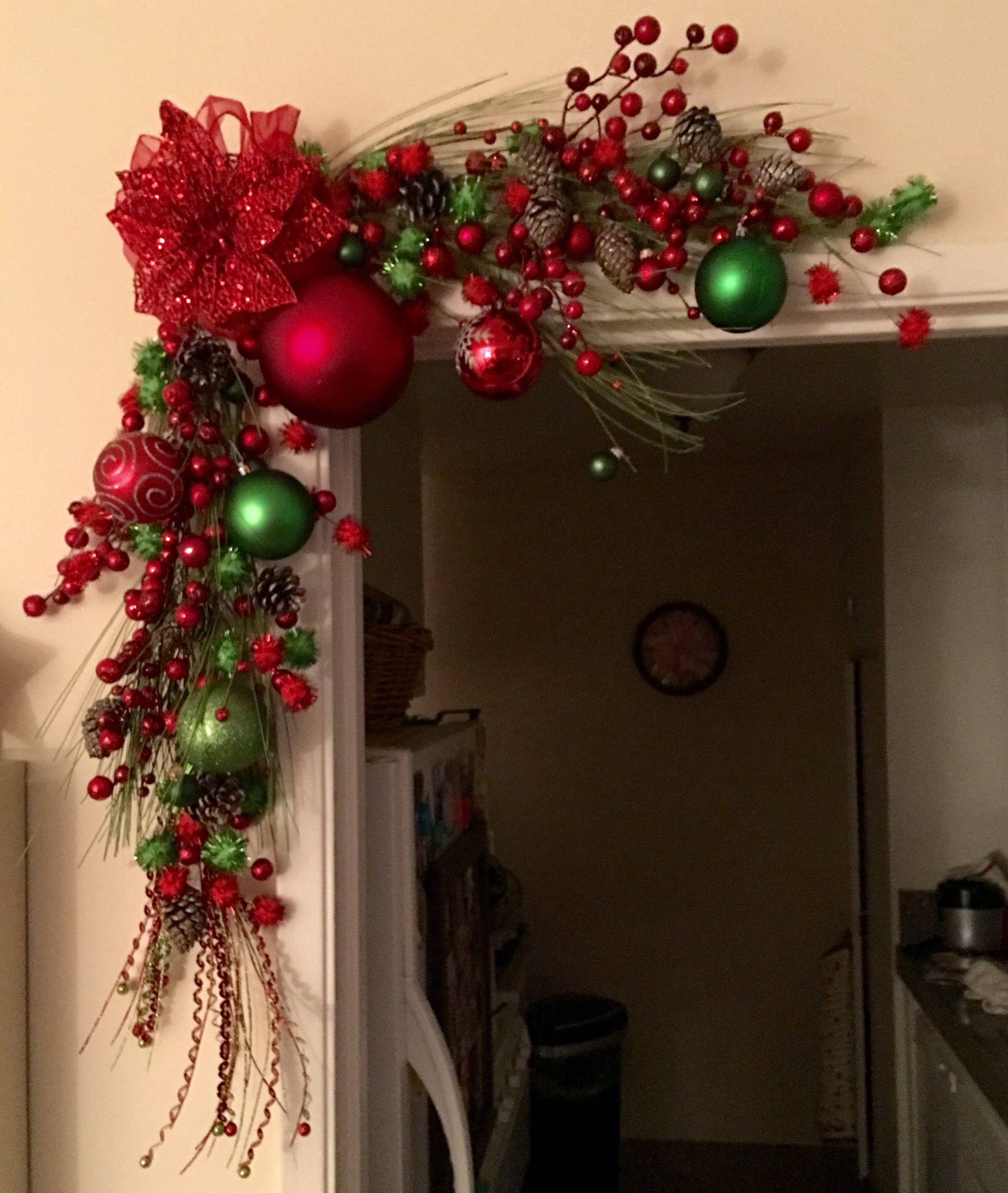 Navidad decoraci n de navidad manualidades navidad for Decoracion de navidad para ventanas y puertas
