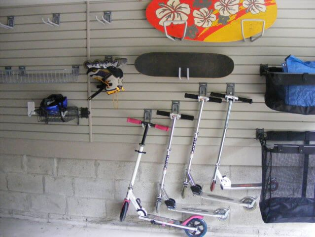 Multiple Sports Equipment Storage Ideas   Google Search