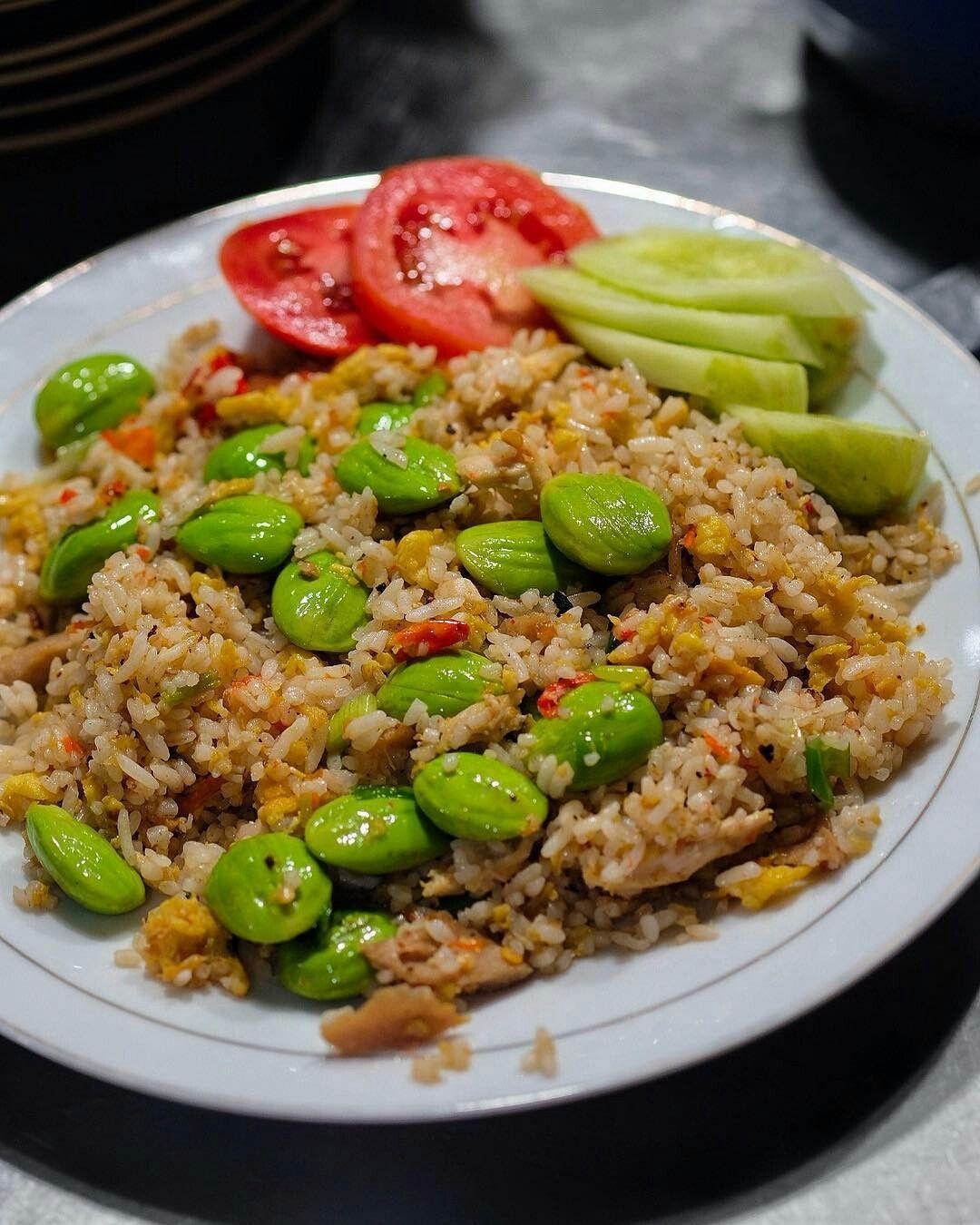Nasi Goreng Pete Makanan Masakan Resep