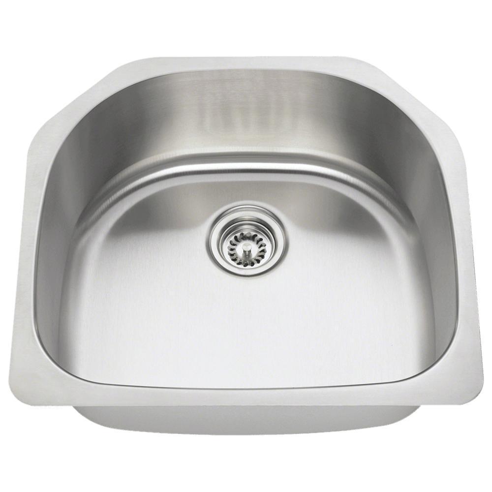 Kitchen Sink Single Bowl Undermount Stainless Steel