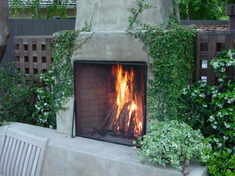 Moffat outdoor rumford fireplace rumford design increases for Rumford fireplace kits
