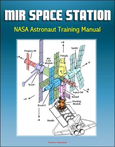 Mir Space Station NASA Astronaut Training Manual - Complete - training manual
