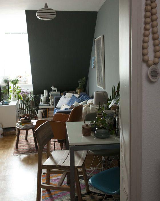 AuBergewohnlich Du Möchtest Deine Dachgeschosswohnung Einrichten? Igor Und IKEA Ideen  Zeigen Dir, Wie Man Aus Wenig Platz Mit Dachschrägen Viel Herausholen Kann.
