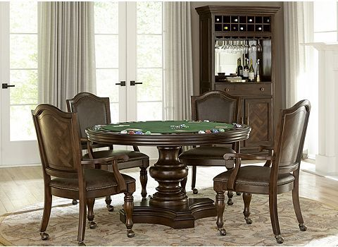 Alternate Mcalister Game Table Image Dining Room Table Bars For