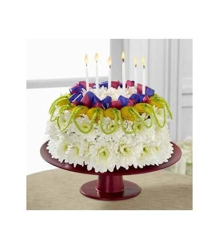 Peachy Bright Days Ahead Floral Cake Ftd With Images Floral Cake Funny Birthday Cards Online Chimdamsfinfo
