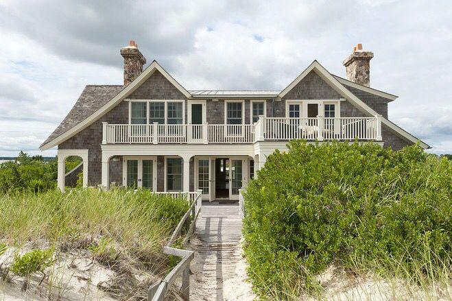 The Hampton Dunes Hamptons Beach House Hamptons House Waterfront Homes
