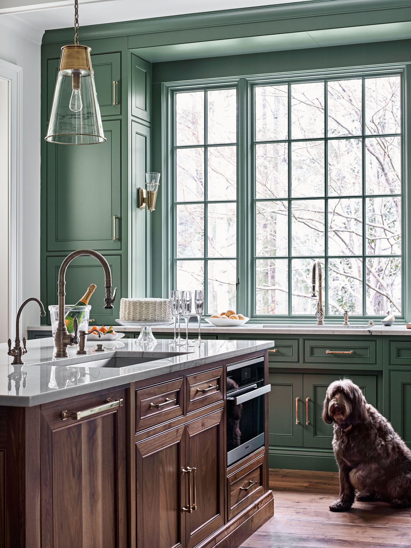 Green Day In 2020 Green Kitchen Interior Design Kitchen