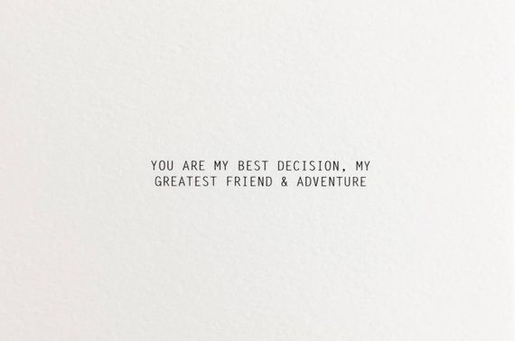 Best Decision love card, birthday card for boyfriend, first anniversary card for boyfriend, birthday