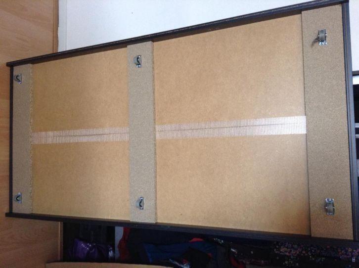 Ikea Slaapkamer Eenpersoonsbedden : ≥ bedlade ikea bedbak zwart slaapkamer bedden marktplaats