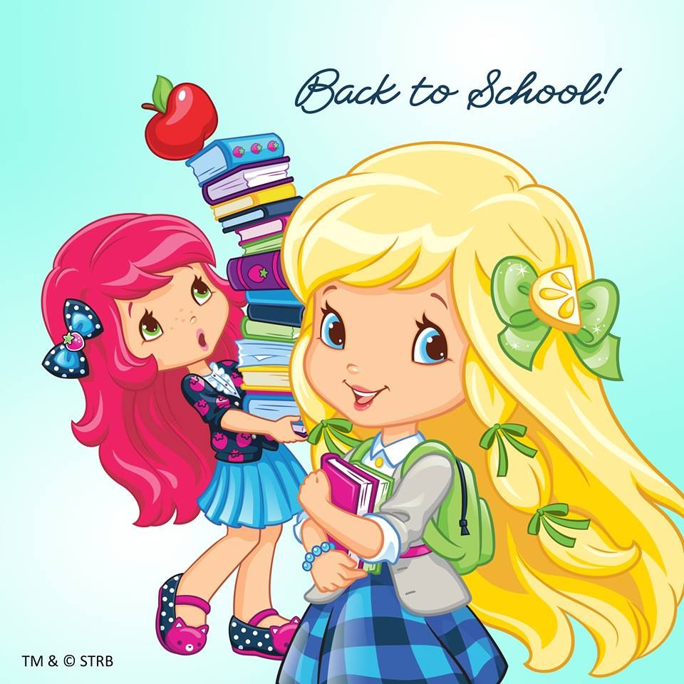 Back to School with Strawberry Shortcake and Lemon