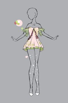 Pin By Mary On Artsy Heartsy Fashion Design Drawings Anime Dress Fashion Drawing