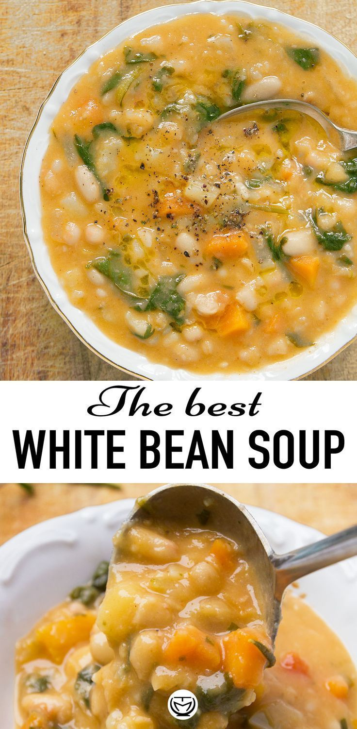 Deutsche Kuche Soup The Best White Bean Soup | Recipe | Bean Soup Recipes, Vegan Soup Recipes, White Bean Soup