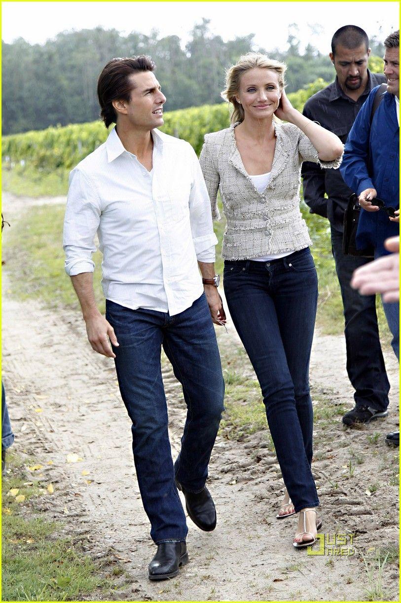 Tom Cruise & Cameron Diaz: Fun in France! | tom cruise cameron diaz martillac france press conference 06 - Photo