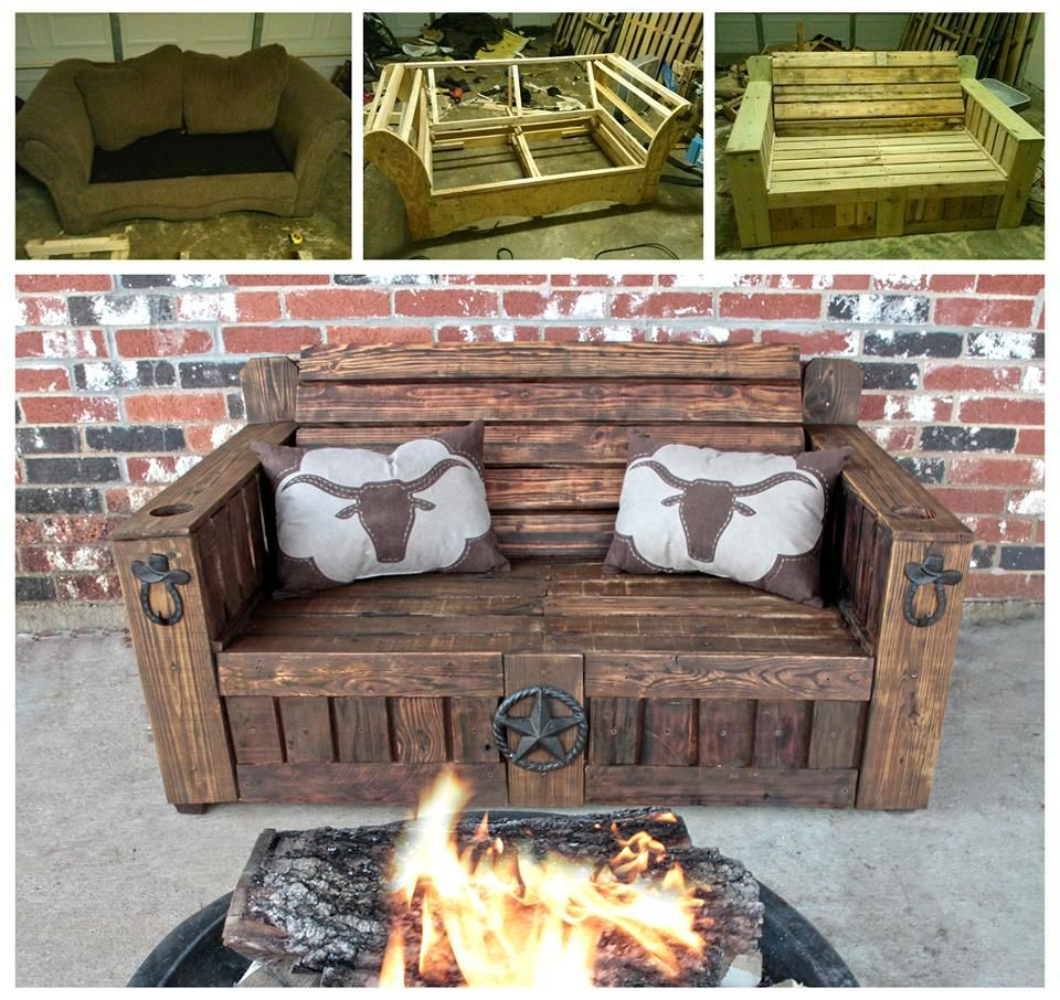 Awesome Texas Bench By Crocker Twin Creations Lewisville Tx Outdoor Decor Bench Home