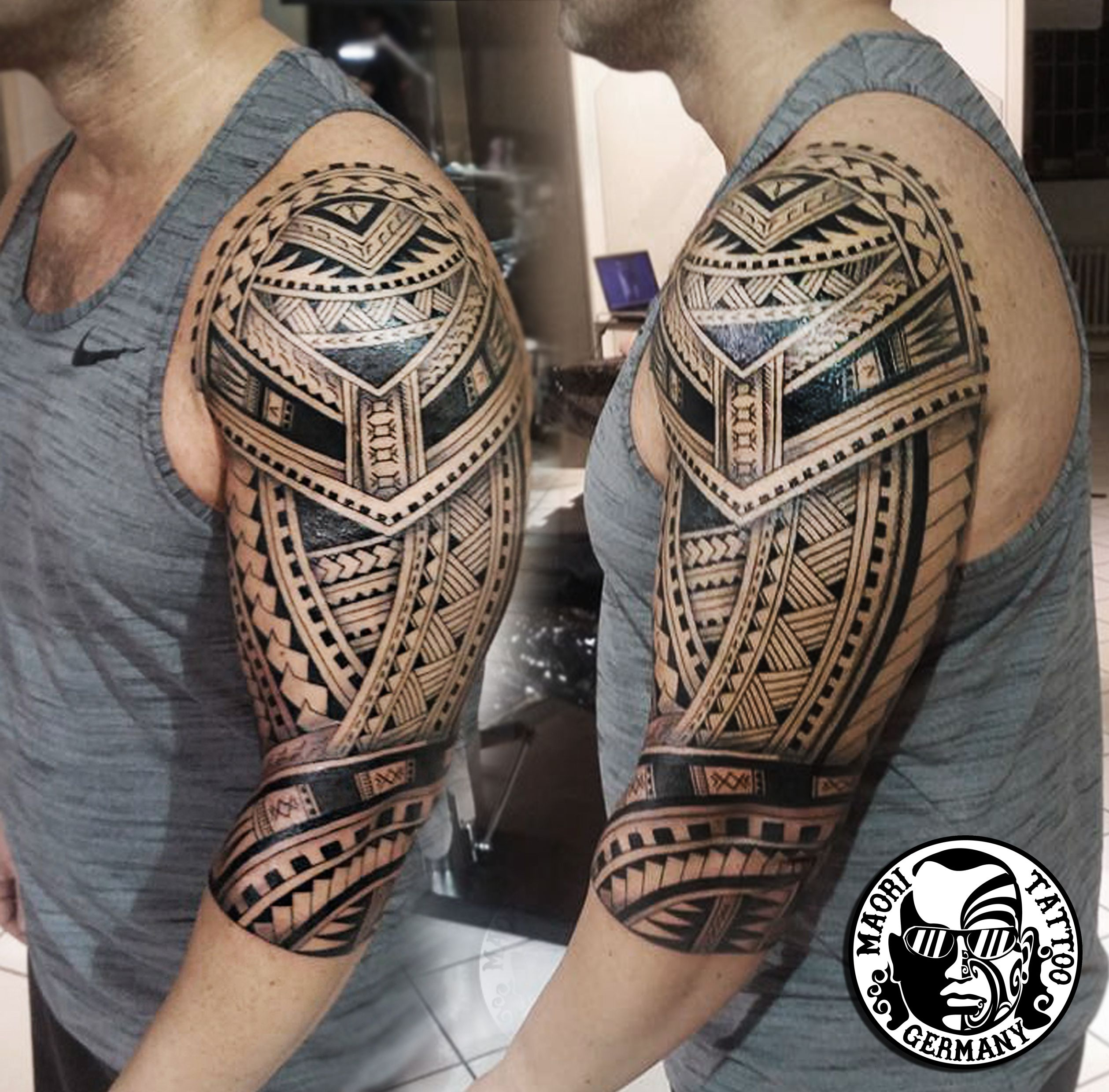maori polinesische tattoos by mata tattoo studio art makia maori tattoo germany maori. Black Bedroom Furniture Sets. Home Design Ideas