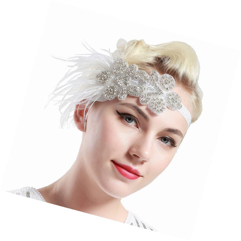 BABEYOND 1920s Headband Flapper Headbands 1920s Great Gatsby Style ...