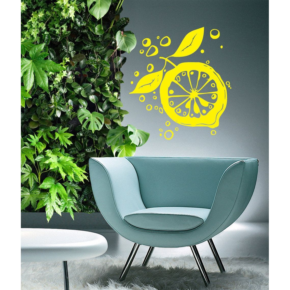 Lemon Kitchen Vinyl Sticker Wall Art | Kitchen | Pinterest | Lemon ...