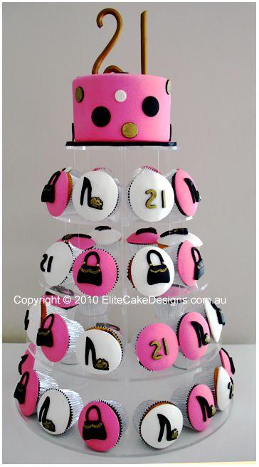 Fashion Birthday Cakes Fashion Cake Birthday Cupcakes ...