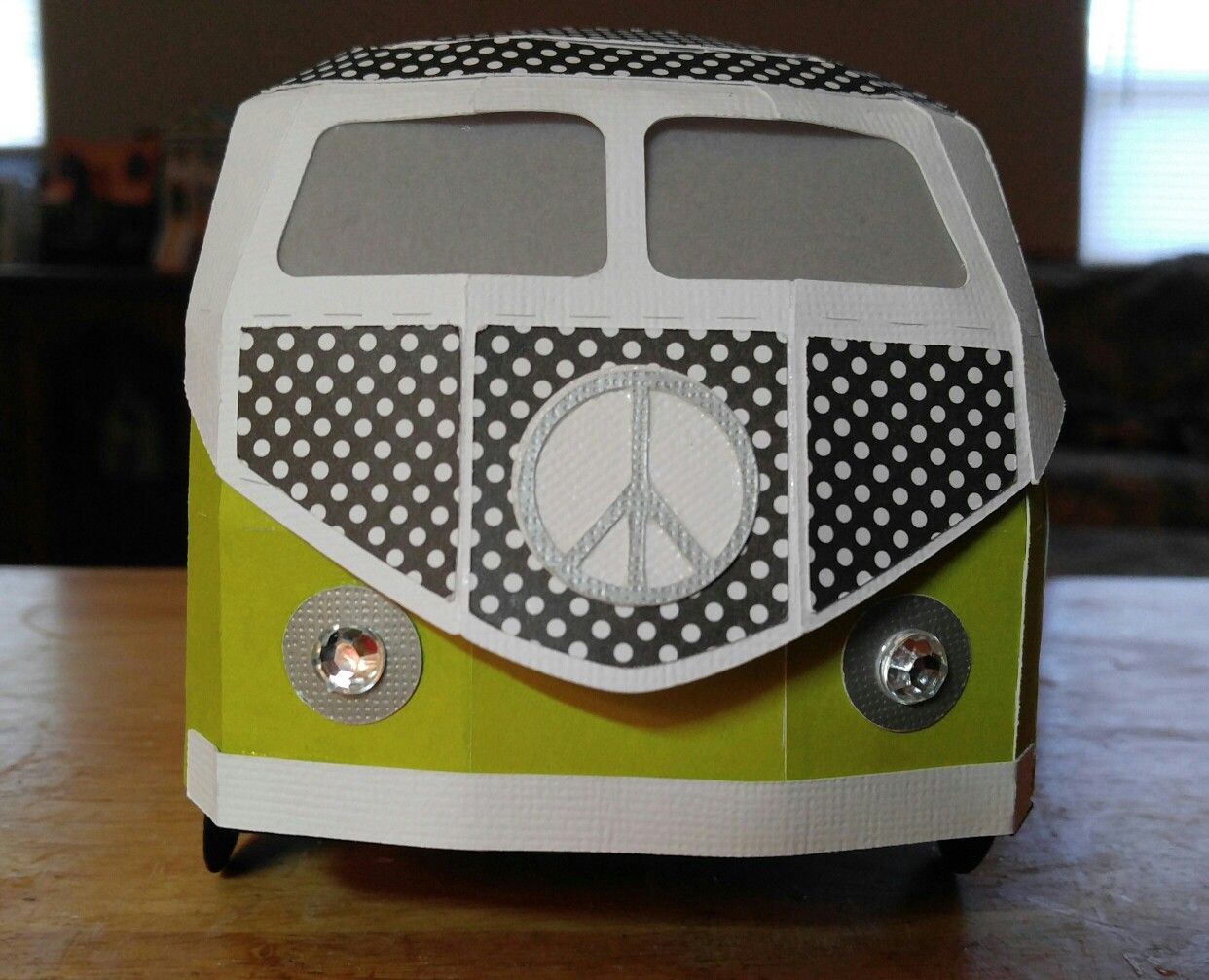 Front of German Bus svgcuts