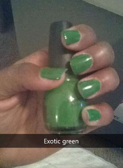 Exotic green by Sinful Colors
