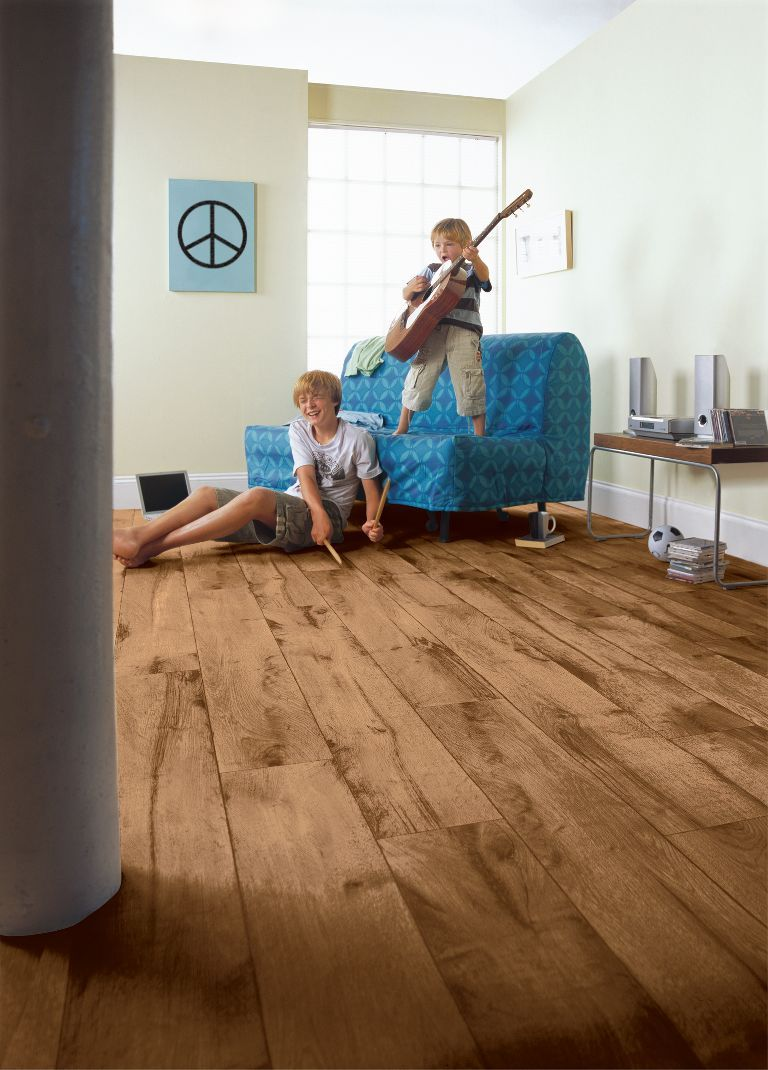 Warm Kitchen Flooring Options Armstrong Rustic Timbers Vinyl Sheet Flooring Home Flooring
