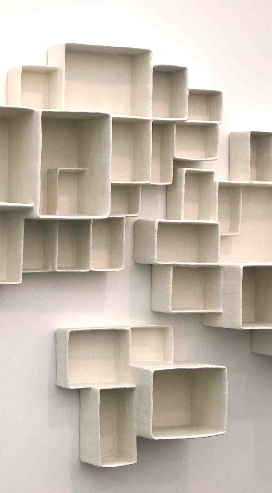 Cool wall storagedisplay rack art shit pinterest art