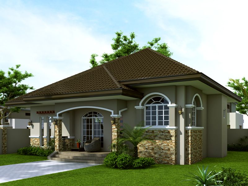 Small House Design: SHD 2014007 | Pinoy EPlans   Modern House Designs, Small