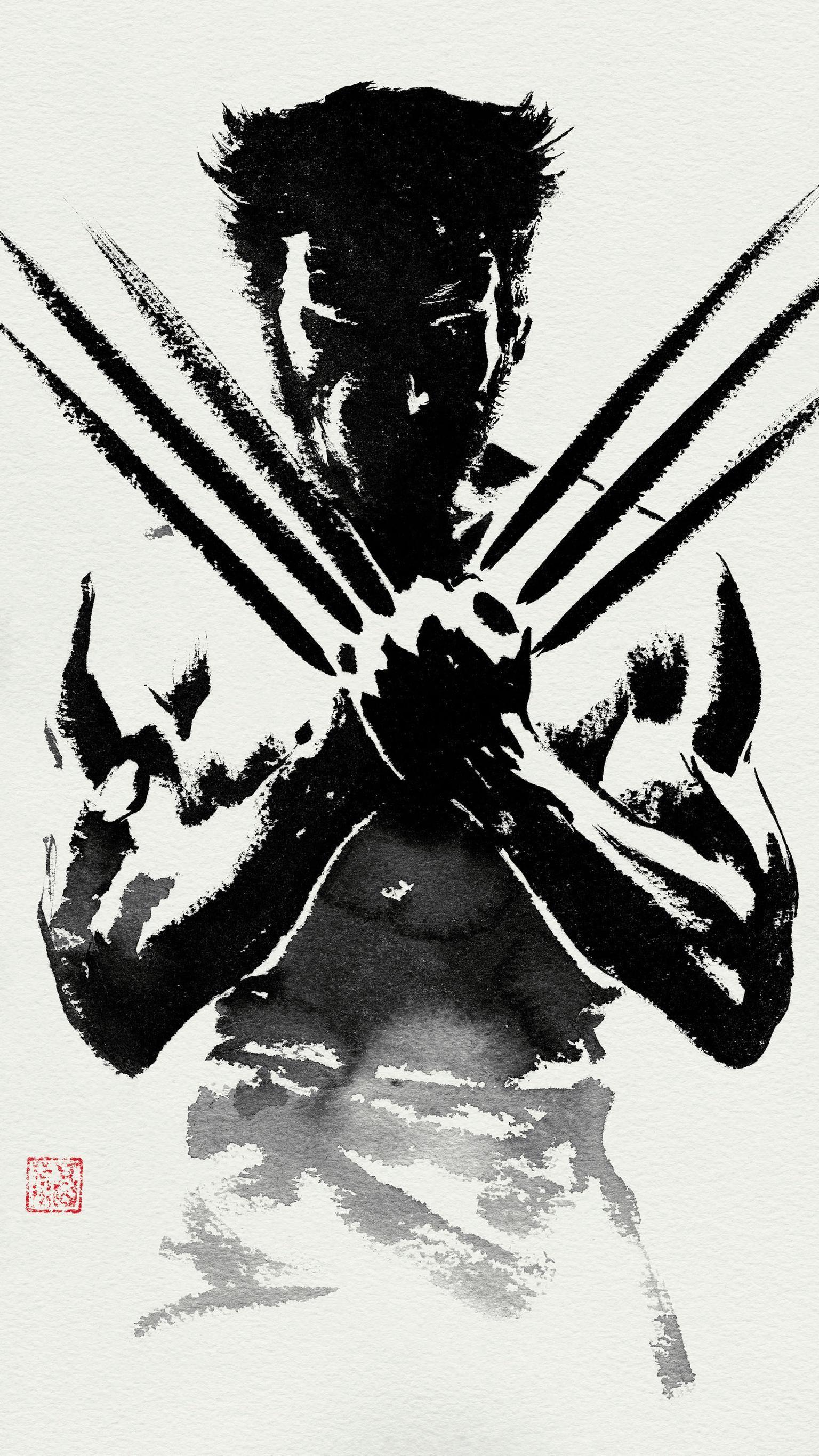 The Wolverine 2013 Phone Wallpaper Moviemania Marvel Iphone Wallpaper Dc Comics Wallpaper Wolverine Wallpaper
