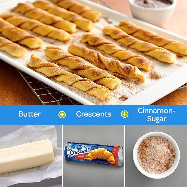 Easy pillsbury crescent roll dessert recipes