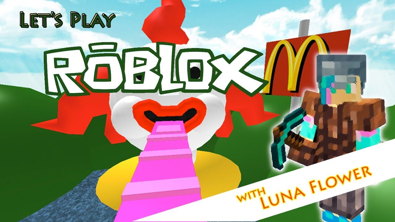 Lets Play Roblox Ep2 Escape Mcdonalds Obby Roblox Pinterest