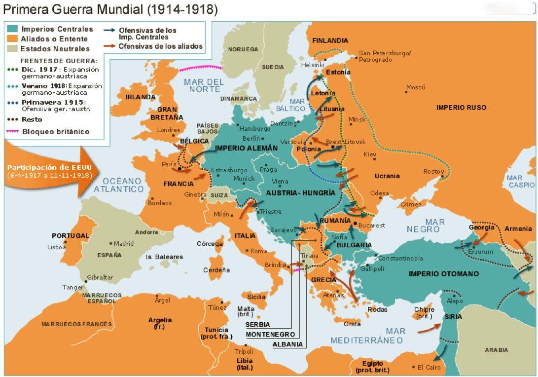 Pin En El Conflicto De Enseñar Un Conflicto La Primera Guerra Mundial