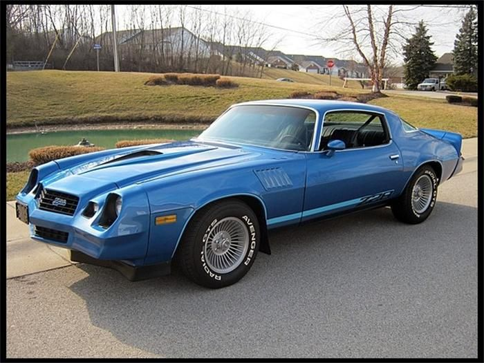 1978 Chevy Camaro Z28 A Lot Like One I Had Back In The Day