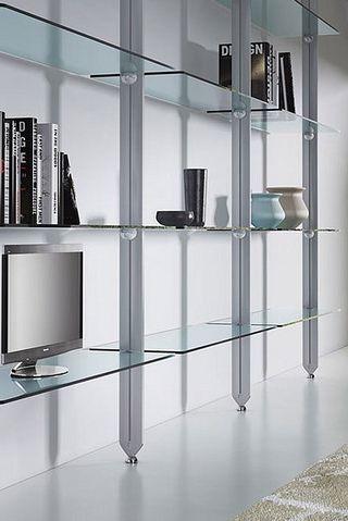 Custom Glass Wall Shelves For Entertainment Sets Desks And Storage Glass Shelves Glass Wall Shelves Shelves